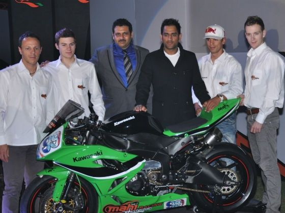 Mahi Racing Team members