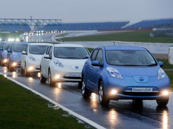 Nissan Leaf world record