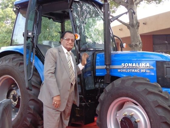 Interview with LD Mittal, Chairman, Sonalika