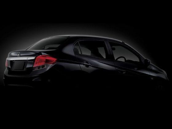Honda Brio Sedan teaser