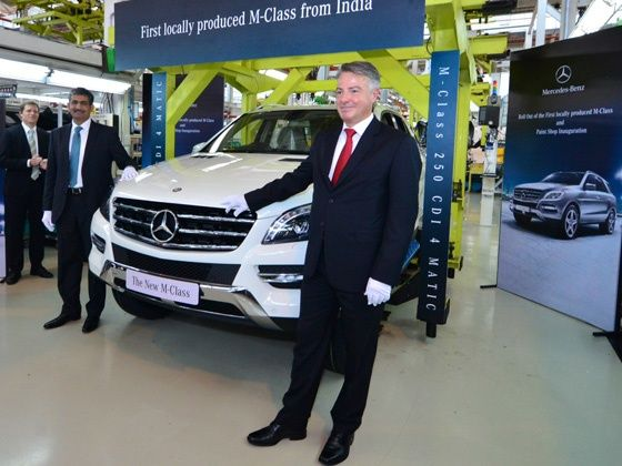 Mercedes-Benz ML250 CDI Launch