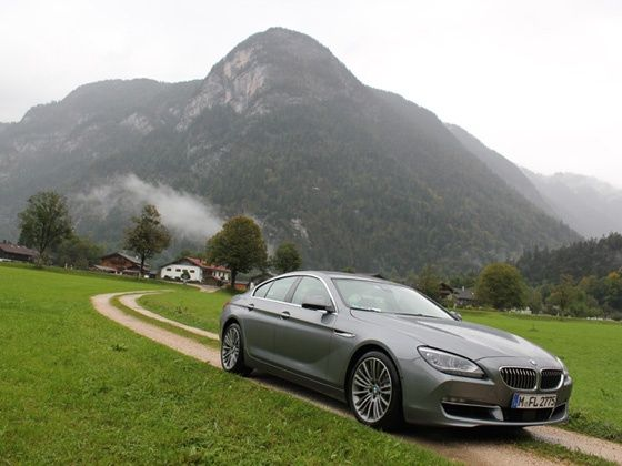 BMW 6 Series Gran Coupe drive