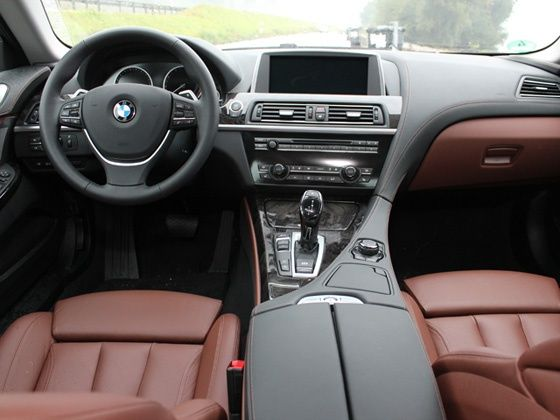 BMW 6 Series Gran Coupe interiors