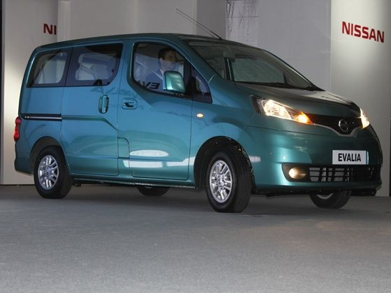 Nissan Evalia Launched
