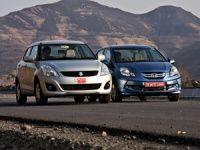 Honda Amaze vs Maruti Suzuki Dzire