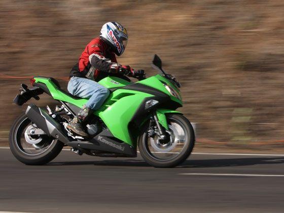Kawasaki Ninja 300 ride