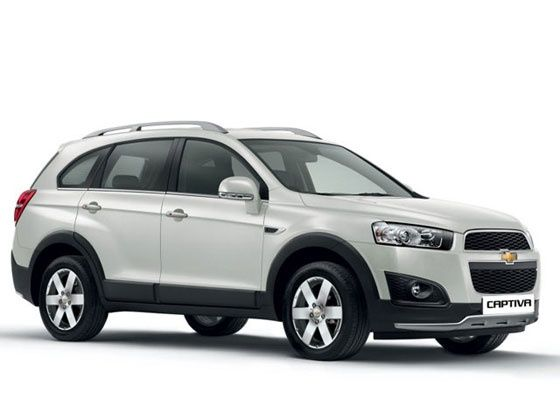 Chevrolet Captiva facelift front