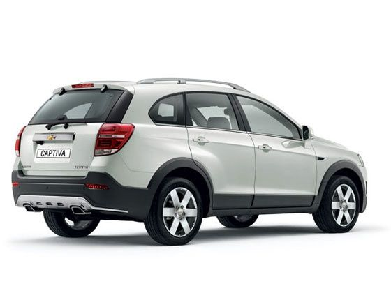 Chevrolet Captiva facelift rear