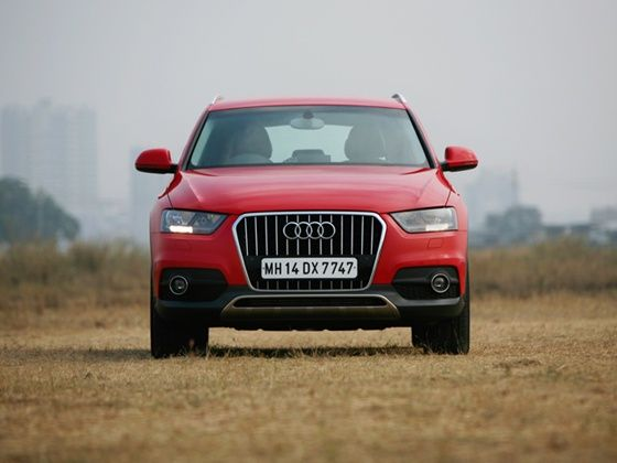 Audi Q3S front