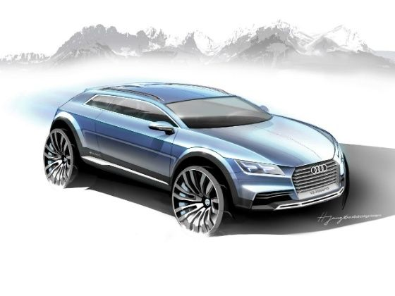 New Audi crossover concept