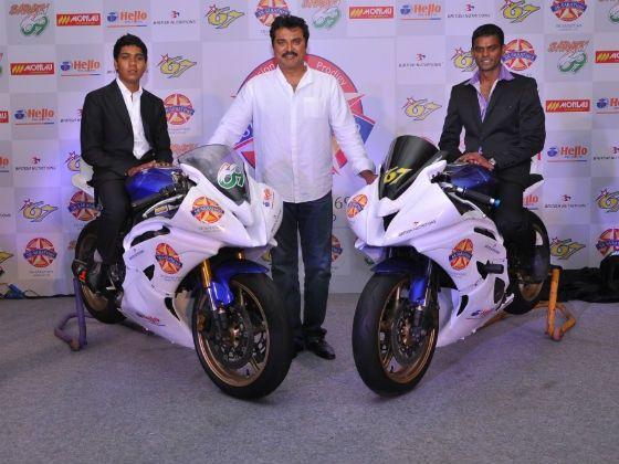 (L-R)Sarath Kumar,Actor Sarath Kumar,and K. Rajni