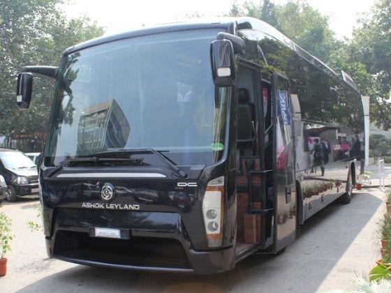 Ashok Leyland Luxura Magical India bus