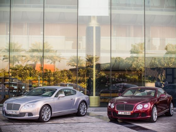 Bentley Continental GT Speed colours