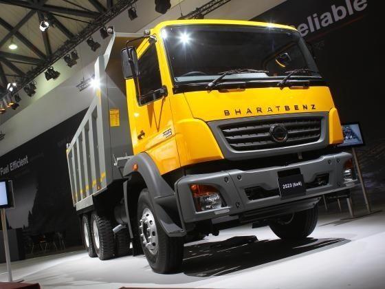 BharatBenz trucks