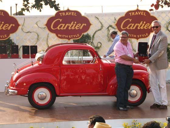 Winner of the Indian Heritage category, 1949 Fiat 500C