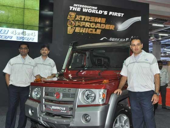 Gurkha 4x4x4 launch