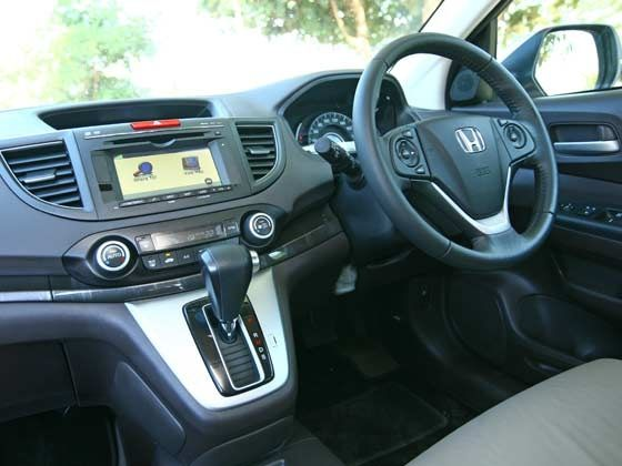 New Honda CR-V interiors