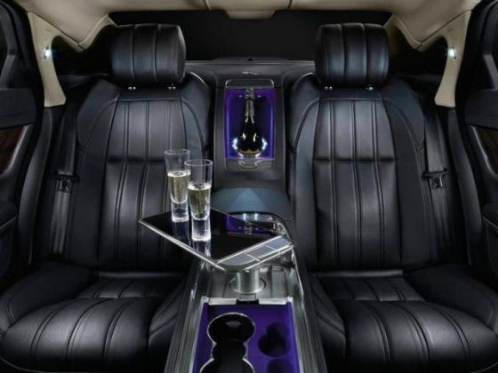 Jaguar XJ Ultimate rear seats