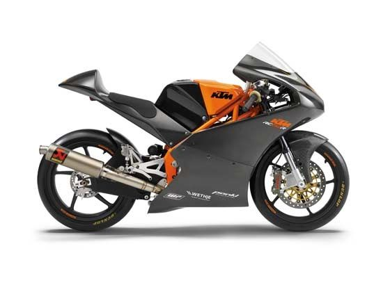 KTM RC 250R side shot
