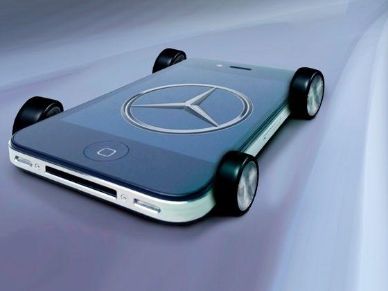 Mercedes iOS app