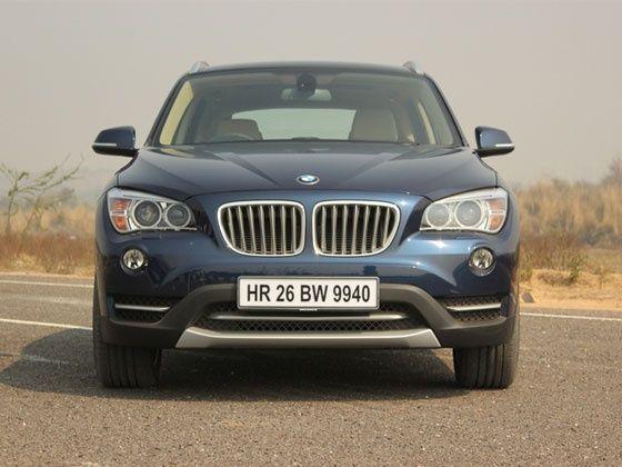 2013 BMW X1 sDrive20d front fascia