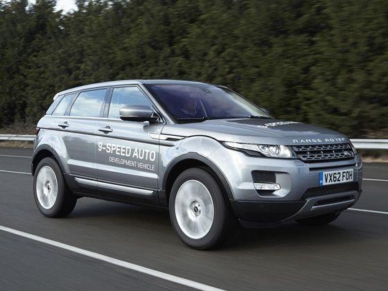 Land Rover Evoque nine-speed