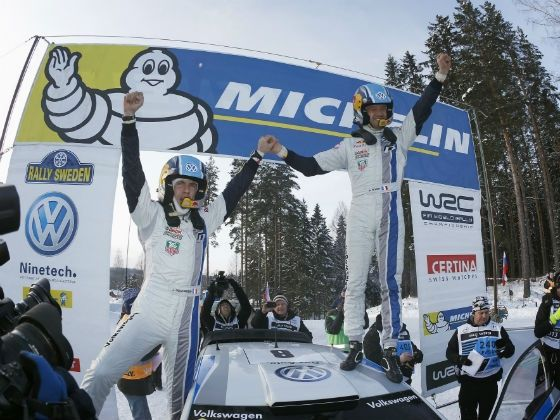 Sebastien Ogier wins 2013 Rally Sweden