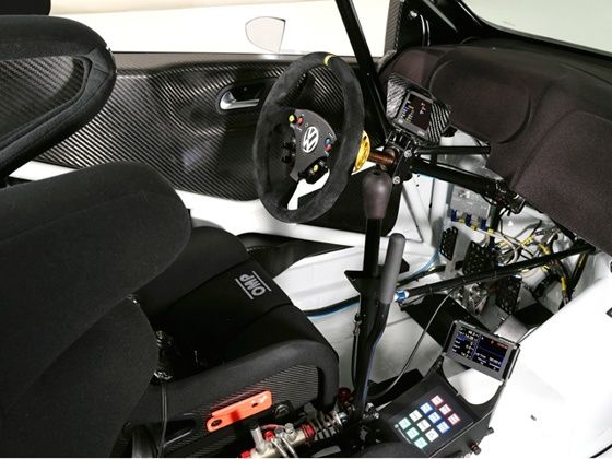 2013 Volkswagen Polo R WRC Rally car interiors