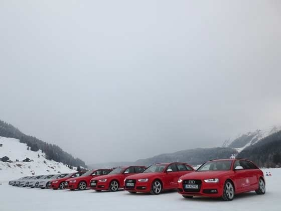Audi Ice Driving Experience - RS4 Avant