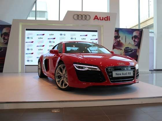 Upgraded Audi R8 V10 Spyder launched