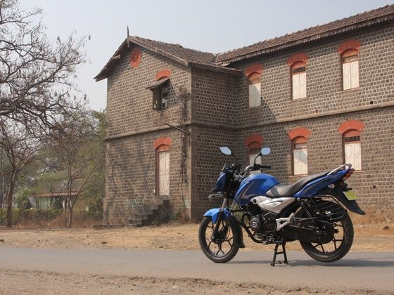 bajaj discover 110T ride static
