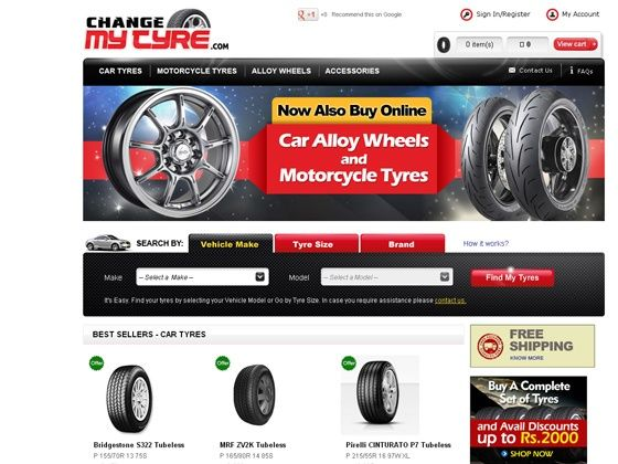 Alloy Wheels and Two wheeler tyres