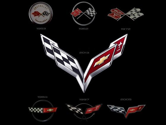 Chevrolet Corvette emblems