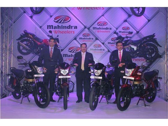 Mahindra 2Wheelers unveils Pantero and Centuro