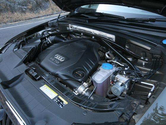 New Audi Q5 TDI engine