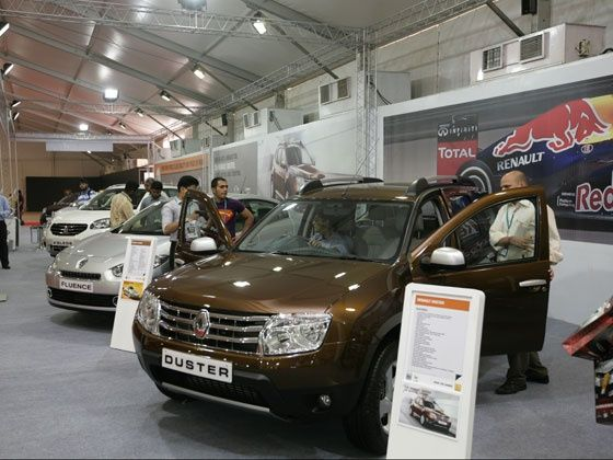 Renault stand at MIMS 2013