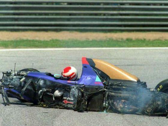 Temporada de Formula 1 em 1994, Ratzenberger, Imola 1994 by zigwheels.com