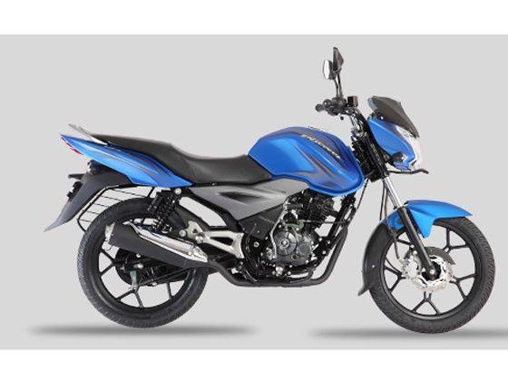 Bajaj Discover 125T in Brilliant Blue shade