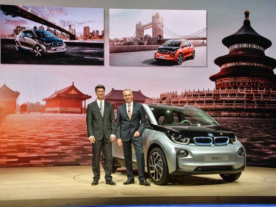 BMW i3 makes its World Premiere at Beijing
