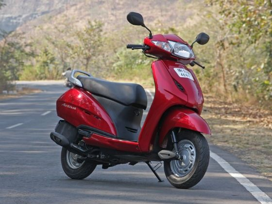 Honda Activa static shot