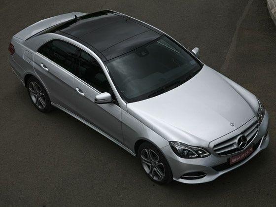 2013 Mercedes-Benz E-Class drive top