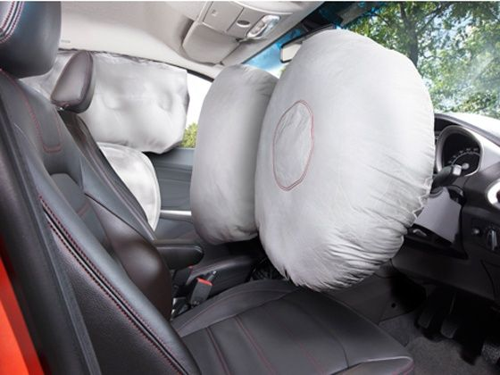 Ford EcoSport air bags