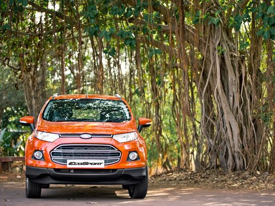 Ford EcoSport front profile