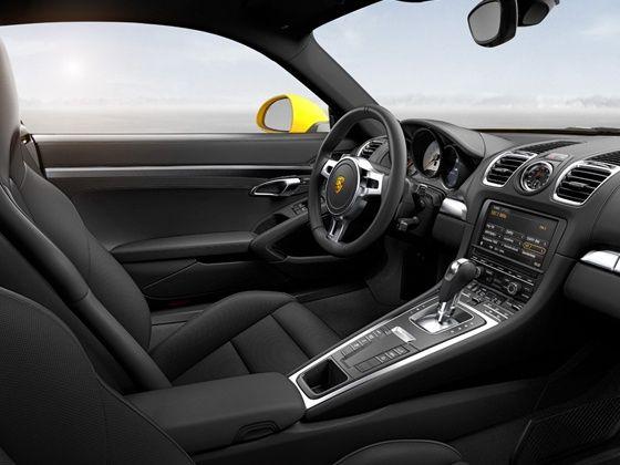 New Porsche Cayman S interiors