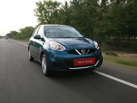 Nissan Micra facelift drive