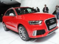 Audi RS Q3 revealed at Geneva