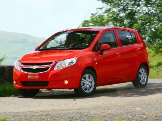 Chevrolet Sail UVA front shot