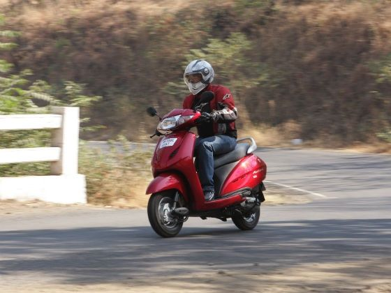 New Honda Activa HET in action