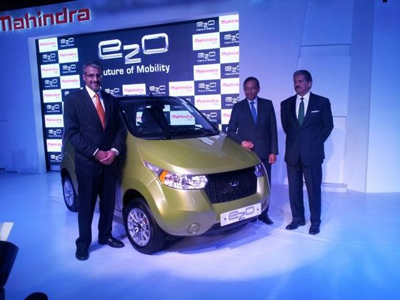 Mahindra e2O launched