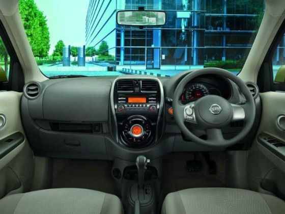 Nissan Micra face-lift interior